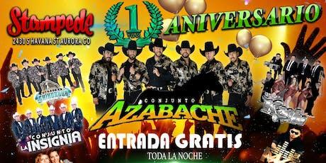 Primer Aniversario con Conjunto Azabache y mucho más! tickets