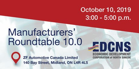 Manufacturers' Roundtable North Simcoe (by invitation only) tickets