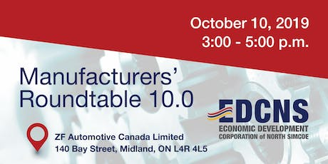 Manufacturers' Roundtable (by invitation only) tickets