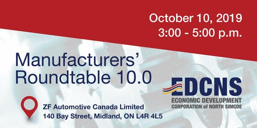 Manufacturers' Roundtable North Simcoe (by invitation only)