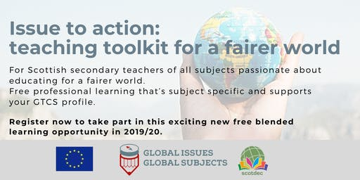 Issue to action: teaching toolkit for a fairer world