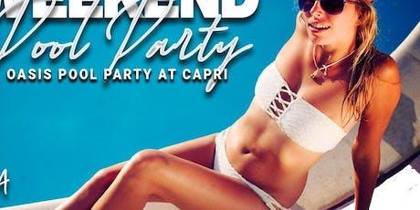 Capri Southampton Pool Party 7/6 tickets
