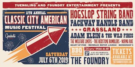 11th Annual Classic City American Music Festival tickets