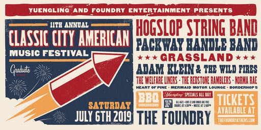 11th Annual Classic City American Music Festival