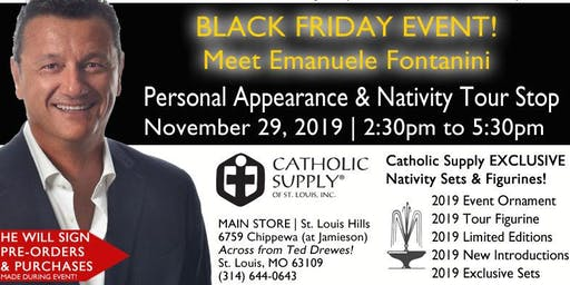Fontanini Nativity Tour Stop! Meet Emanuele Fontanini from Italy!