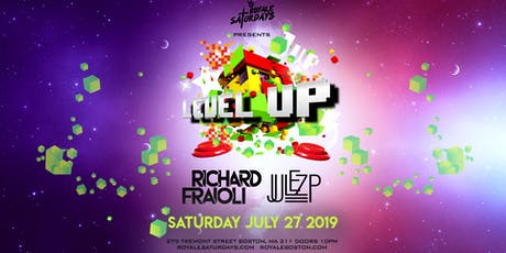 Level Up ft. Richard Fraioli | Royale Saturdays | 7.27.19 | 10:00 PM | 21+ tickets