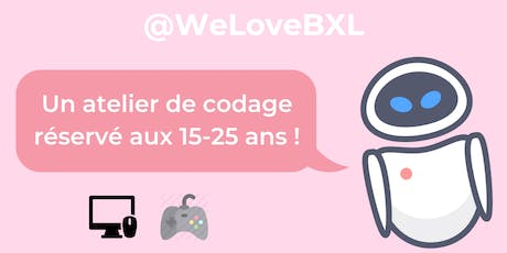 CoderDojo @WeLoveBXL billets