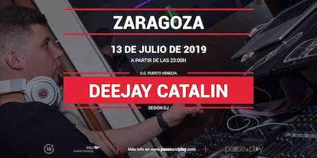 Sesión DJ Deejay Catalin Pause&Play Intu Puerto Venecia entradas