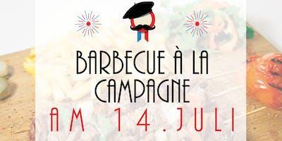 Barbecue à la campagne - 14 juillet