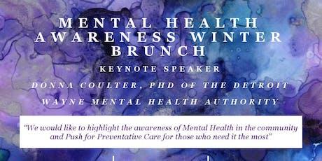 Mental Health Awareness Winter Brunch tickets