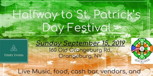 Halfway to St. Patrick's Day Festival