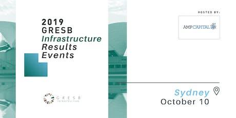 2019 GRESB Infrastructure Results   Australia/NZ tickets