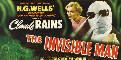 Film Night: The Invisible Man (1933)
