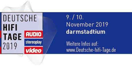 Deutsche HiFi Tage 2019 Tickets