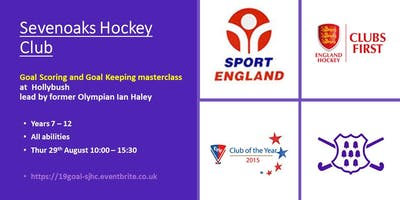 Sevenoaks Hockey Club Goal Scoring and Goal Keeping Masterclass