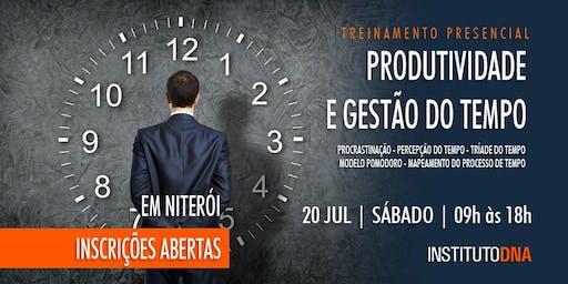 WORKSHOP PRODUTIVIDADE E GESTÃO DO TEMPO - TURMA 2-2019