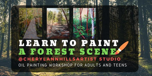 Learn to Paint a Forest - Oil Painting Workshop