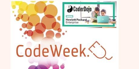 CoderDojo@HPE per la EU Code Week  biglietti