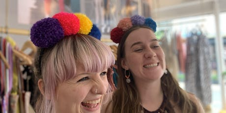 Lucy and Yak presents : PomPom headbands with hellowoollen! tickets