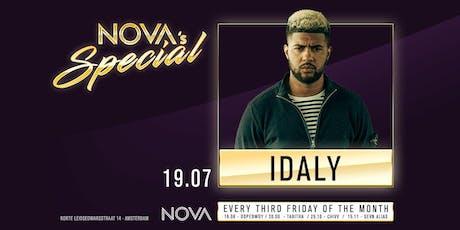Nova's Special - Idaly tickets
