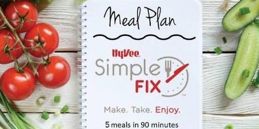 Simple Fix Meal Prepping Workshop: Summer Favorites Menu