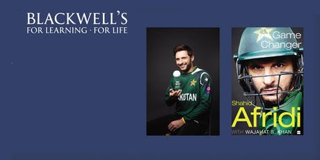 Game Changer - Shahid Afridi book signing.  tickets