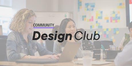 Community Design Club:  Careers UX/UI : Workshop | London tickets