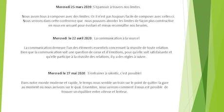 SMQ-BSL (Matane):Conférence populaire: La communication à la source! billets