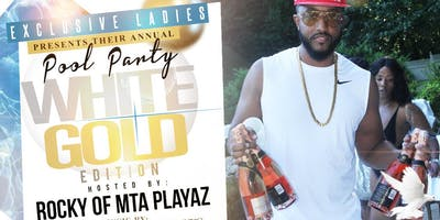 8.3 | WHITE & GOLD Pool Party | Hosted by MTA Rocky