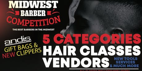 5th Annual Midwest Barber Competition tickets