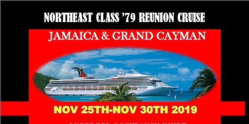 North East Class of 79 40th Class ReUnion Cruise-6th PAYMENT