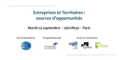 Entreprises et Territoires : sources d'opportunités
