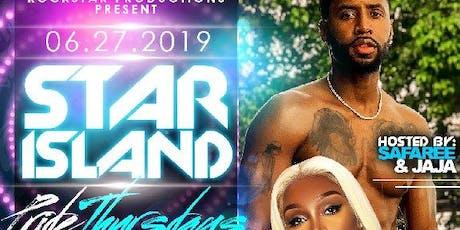 SAFAREE & JAH JAH Host Star Island Thurdays 6-27-2019 tickets