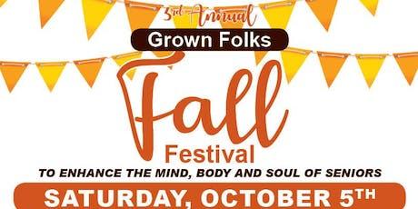 Grown Folks Fall Fest - FREE VIP Vendor Tickets tickets