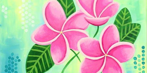 """Plumeria"" Paint Night"