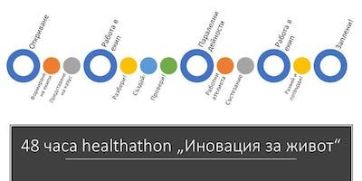 "Healthathon ""Иновация за живот"""