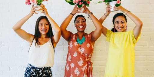 Tropical Blooms at Athleta - Naperville