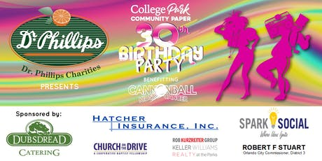College Park Community Paper 30th Birthday Party tickets