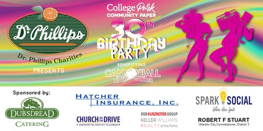 College Park Community Paper 30th Birthday Party