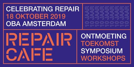 Celebrating Repair: 10 jaar Repair Café tickets