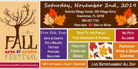 Fall Arts & Crafts Festival at Solivita tickets