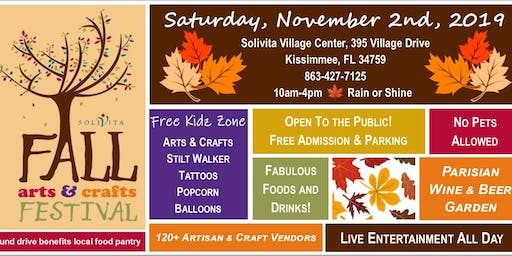Fall Arts & Crafts Festival at Solivita