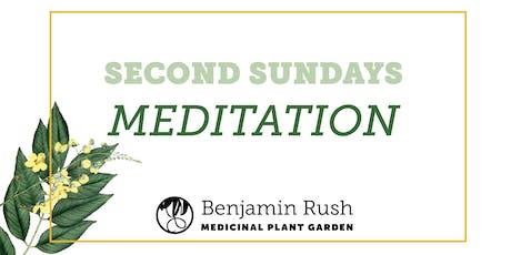 Second Sundays: Meditation in the Garden tickets