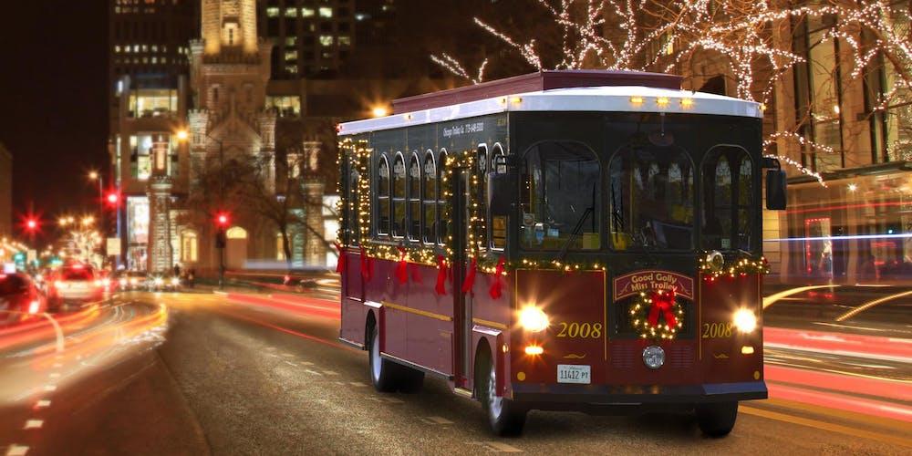 Byob Holiday Lights Trolley Grand Rapids Tickets