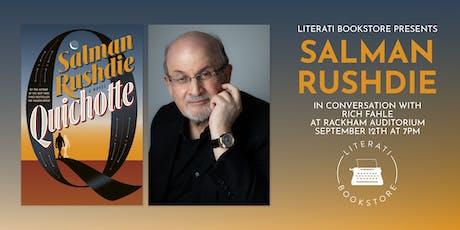 Literati Bookstore Presents Salman Rushdie tickets