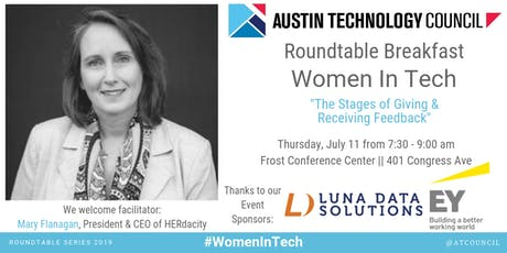 Austin Technology Council Roundtable: Women in Tech | Jul 11 tickets