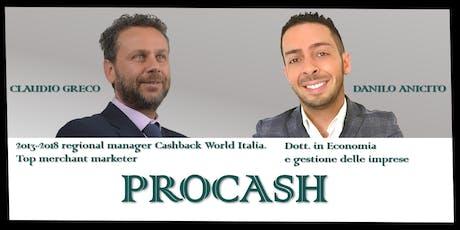 PRO-CASH moduli Base+Advanced - Palermo biglietti