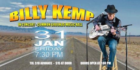Billy Kemp Returns tickets