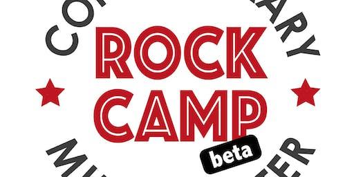 Summer Rock Camp (beta) at CMC July 22 - July 26 (9am - 1pm)