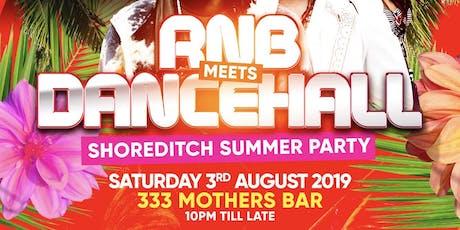 RnB Meets Dancehall Summer Party tickets